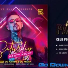 Club Party 01 Flyers Free Download