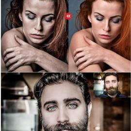 CreativeMarket – Dramatic Portrait – PS Action 3239335 Free Download