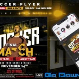Soccer Flyer | Final Match Free Download