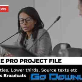 Videohive Broadcast News Package Animated Titles And Lower Thirds For Premiere Pro 33930222 Free Download