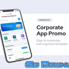 Videohive Corporate App Promo For Premiere Pro 34096293 Free Download