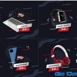 Videohive Cyber Monday Product Promo B183 34348537 Free Download