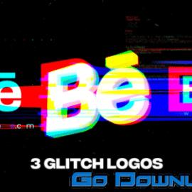 Videohive Glitch Logos For Premiere Pro 34134325 Free Download