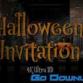 Videohive Halloween Party Invitation 34145976 Free Download