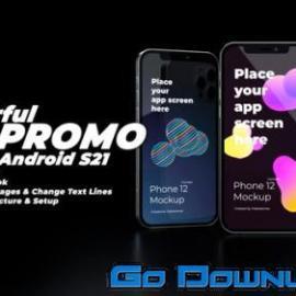 Videohive Wonderful App Promo App Demonstration Video 3d Mobile Mockup Kit Premiere Pro 34095720 Free Download