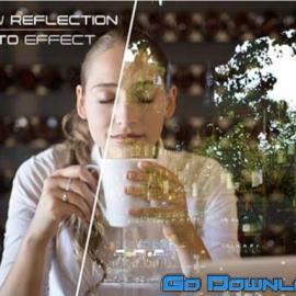 Window Glass Reflection Photo Effect Mockup 281506 Free Download