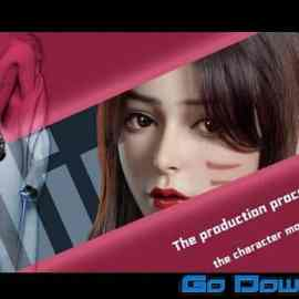WingFox – Lady Gunslinger – A tutorial of production of a model of a fair lady character Free Download