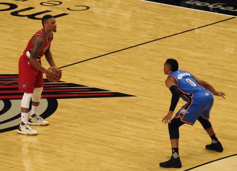 Lillard vs Westbrook