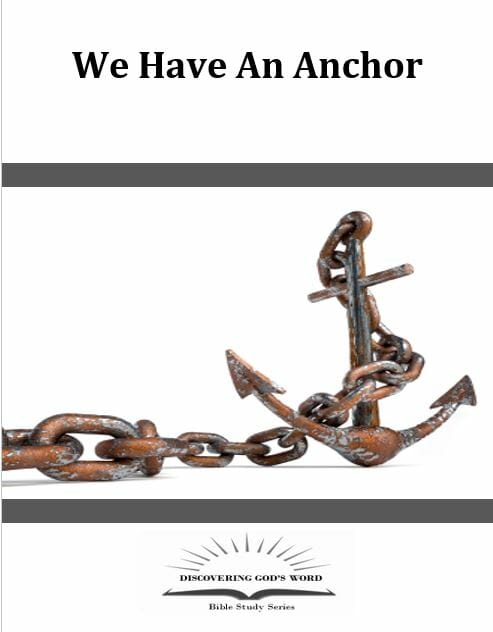 We Have An Anchor! Series Book