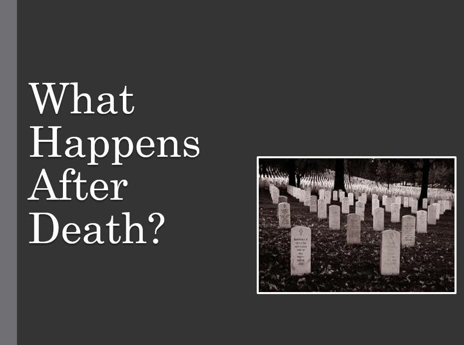 What Happens After Death? Series