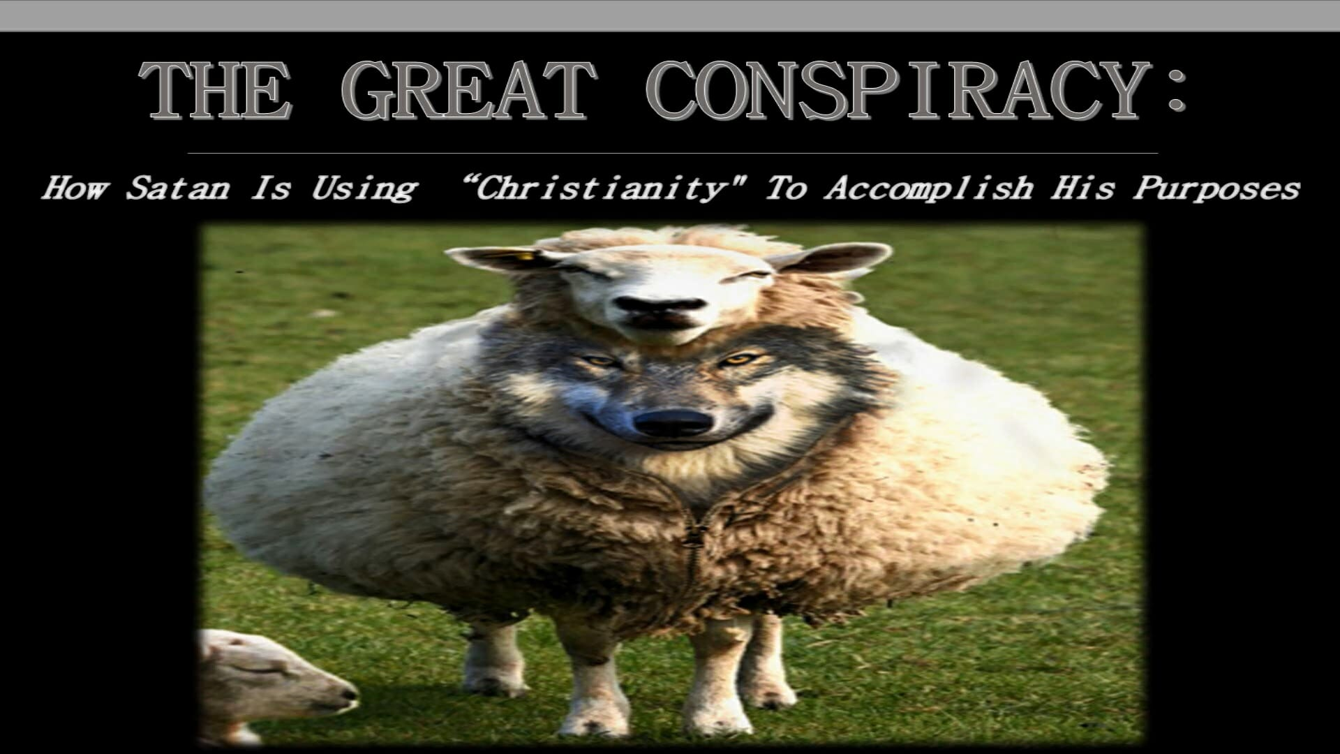 The Great Conspiracy Series