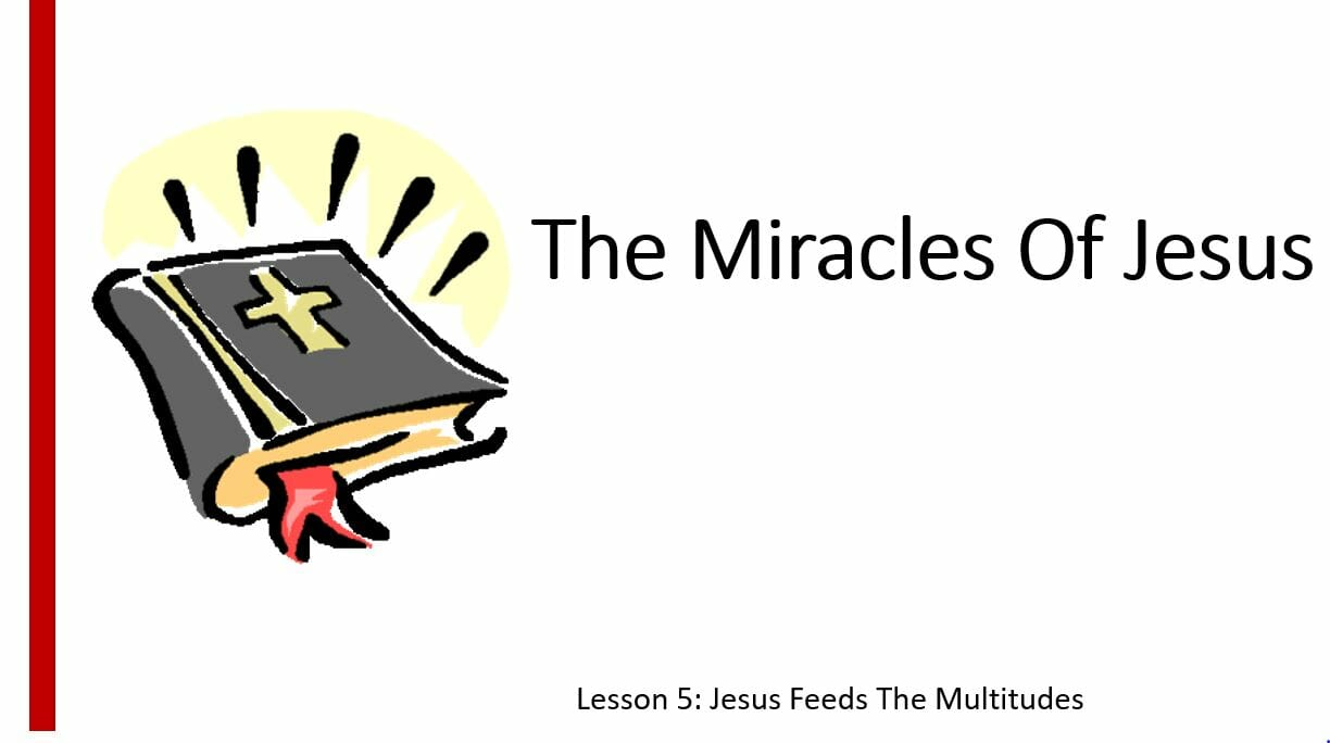 The Miracles Of Jesus (Lesson 5: Jesus Feeds The Multitudes)