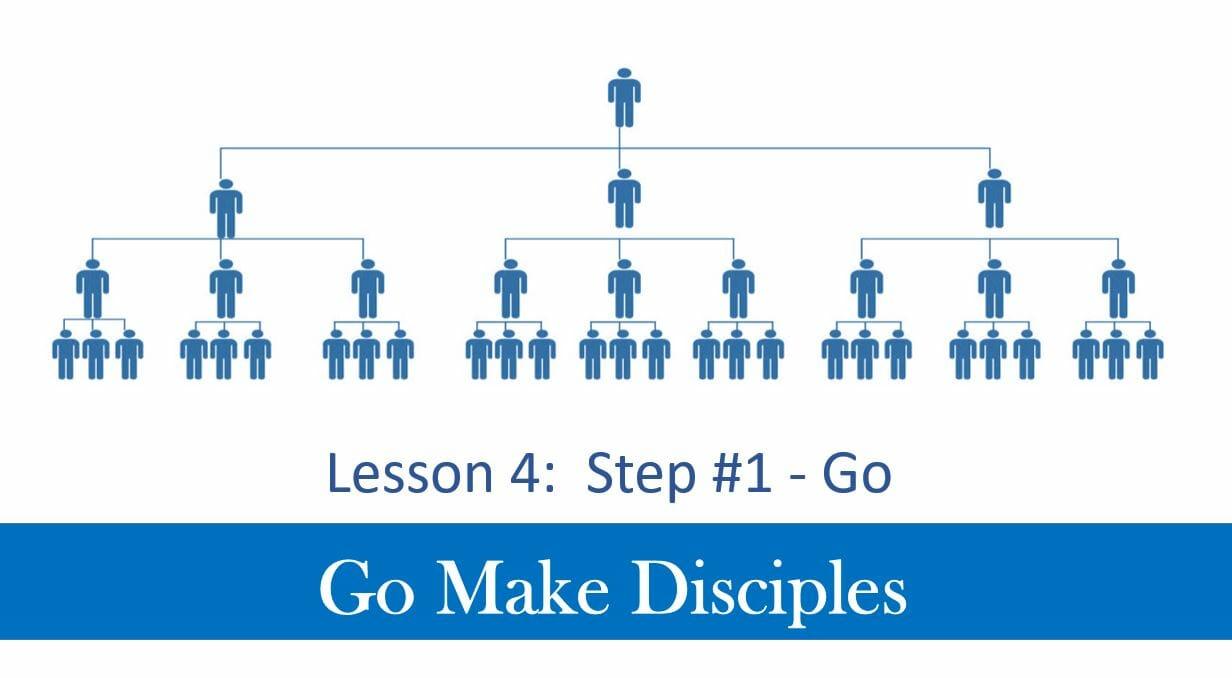 Go Make Disciples (Lesson 4 – Step 1 Go
