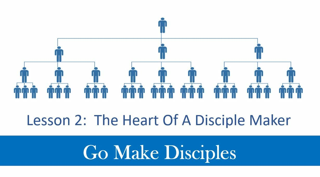 Go Make Disciples (Lesson 2 – The Heart Of A Disciple Maker)