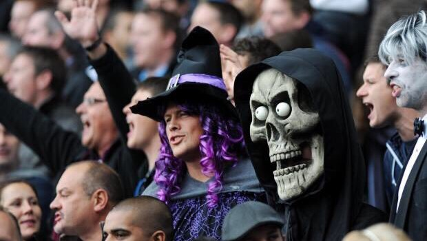 C'est Halloween ! (Source ; AFP/Getty)