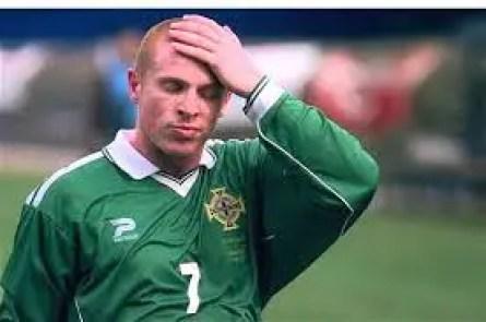 L'ancienne gloire du Celtic Neil Lennon n'était pas forcément le bienvenu en sélection