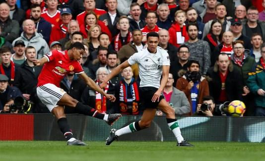 Marcus Rashford goal Liverpool