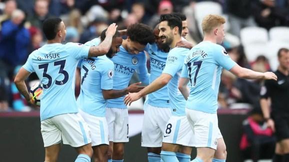 Manchester City a inscrit 132 buts en 35 matchs de championnat cette saison, la dernière fois qu'un club de D1 l'a fait c'était Everton après 32 journée en 1931-31. (Source : premierleague.com)