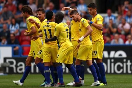 Débuts réussis en Premier League pour Sarri et ses joueurs