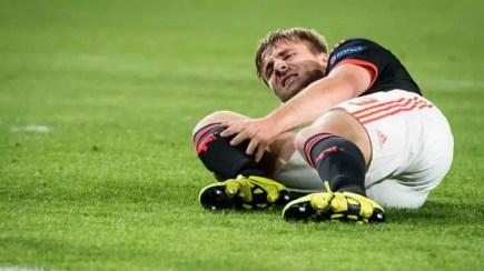 Luke Shaw blessé