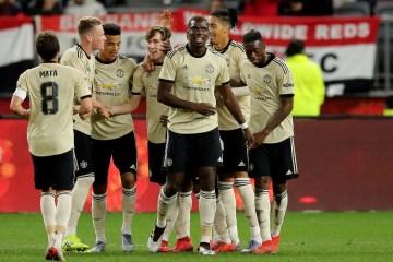Manchester United en tournée de pré-saison en Australie.