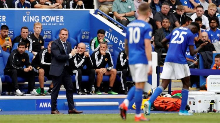 Avec Brendan Rodgers, Leicester ambitionne de passer à la vitesse supérieure (Crédits : premierleague.com)