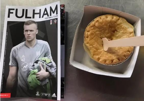 Le programme et la pie ou le foot traditionnel à l'anglaise