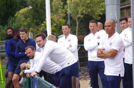 Lampard, Morris, Edwards : nominations clefs illustrant la volonté d'installer des jeunes formés au club en équipe première (Photo : Chelsea FC)