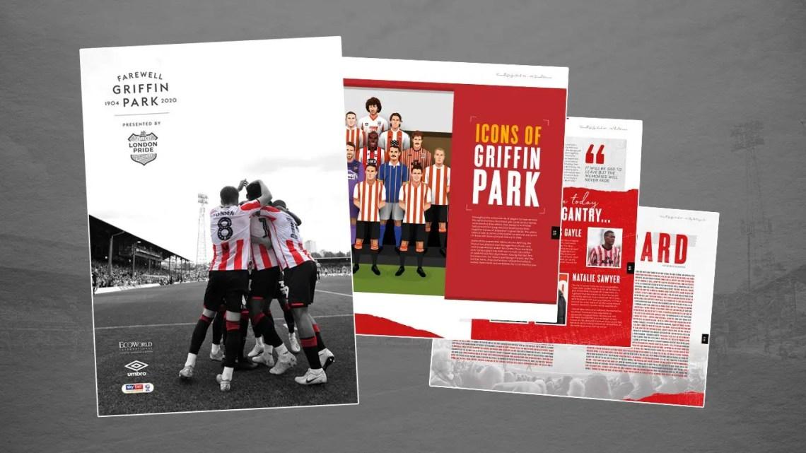 Farewell Griffin Park, le programme du dernier match