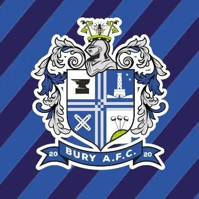 Le logo du Bury AFC