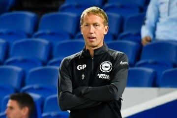 Graham Potter, maître tacticien des Seagulls de Brighton and Hove Albion (Crédit : PA Images / Icon Sport)