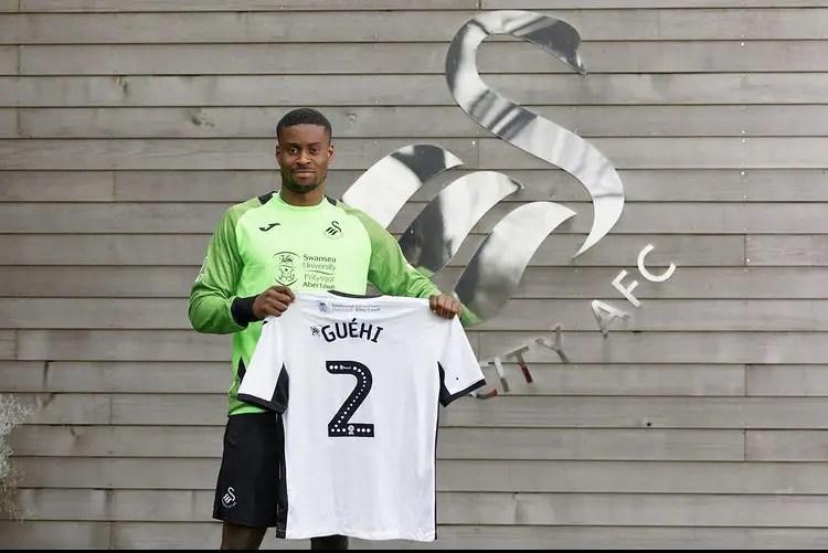 Marc Guehi, officiellement prêté à Swansea City en Janvier 2020 (Crédits : Swansofficial)