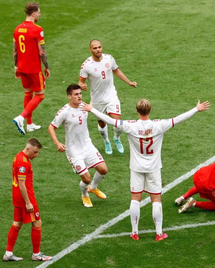 Victoire du Danemark