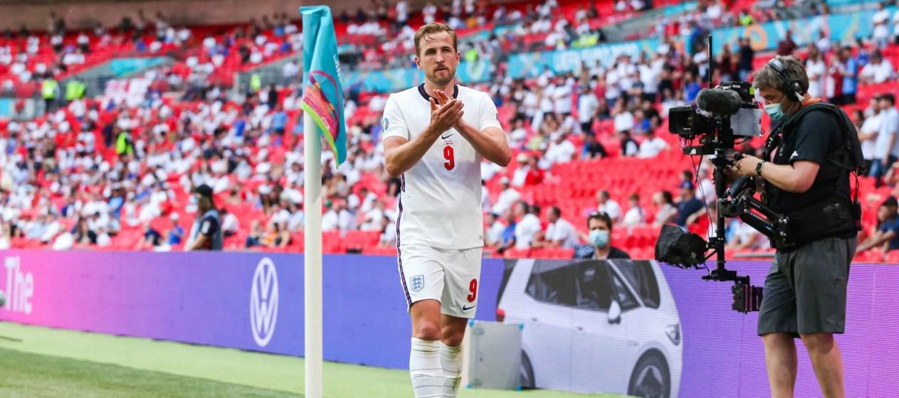 Harry Kane saura-t-il rebondir contre l'Allemagne (Crédit : Pixsell / Icon Sport)
