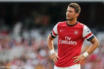 Olivier Giroud à Arsenal