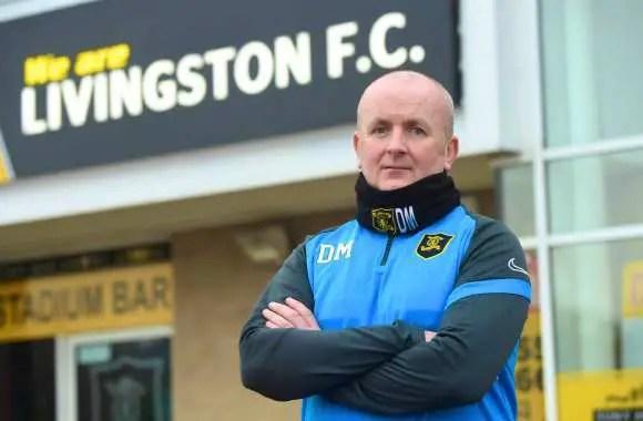 David Martindale, l'homme nouveau ©Twitter Livingston FC