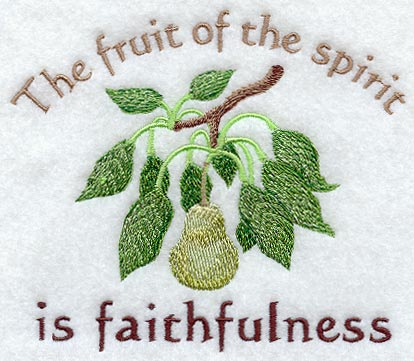God's Breath Publications » THE FRUIT OF THE HOLY SPIRIT