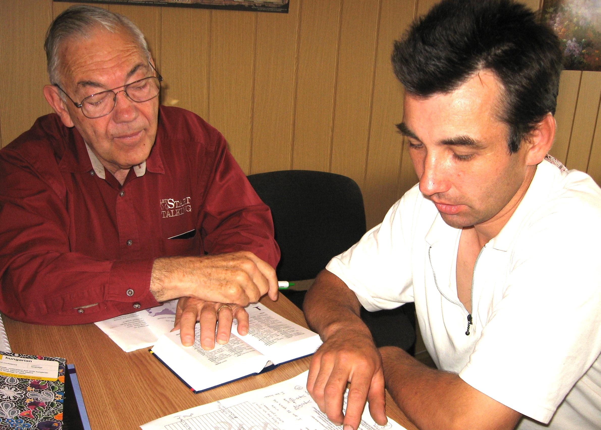Dan & Josef Studied Together in Sfantu Gheorghe, RO