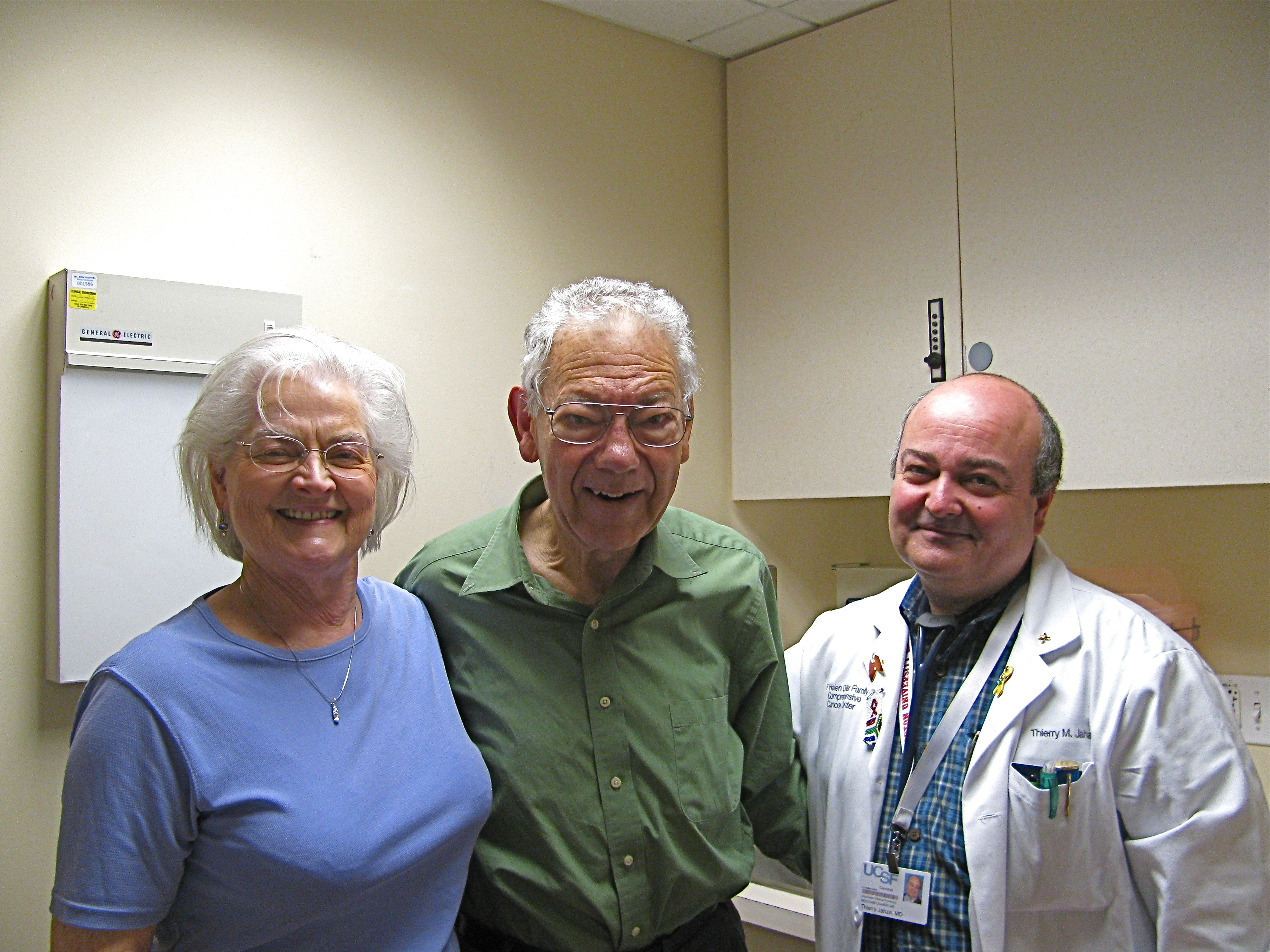 Anne and Dan are Thankful for Dr. Thierry Jahan!