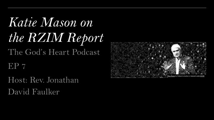 Katie Mason on the RZIM Investigation Report