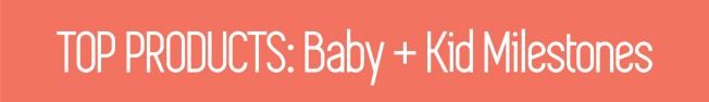 Etsy Top Products Baby and Kid Milestones