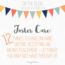 Foster Care - 12 Things to Have Before Fostering an Infant