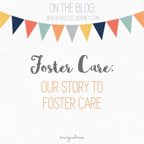 Foster Care - Our Story to Foster Care 2