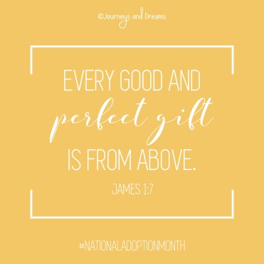 National Adoption Month - Quote 3 - James 1.7