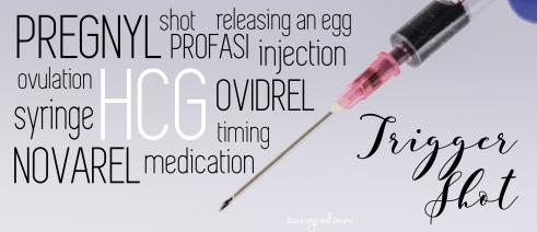 Infertility - IUI - Trigger Shot