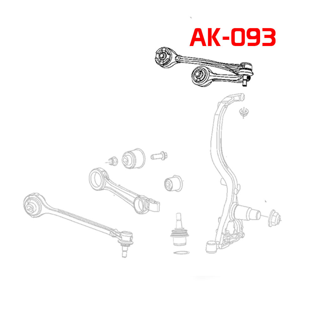 Adjustable Front Camber Arms With Ball Joints Mazda 6(GH