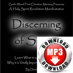 Discerning of Spirits mp3 Download