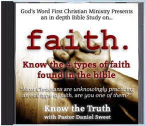 Faith Sermon Audio CD