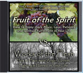Fruit of Spirit Woks of the Flesh Audio CD