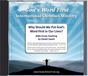 Put Gods Word First Audio CD